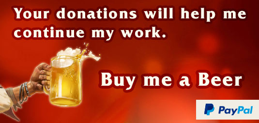 Your donations will help me continue my work.
