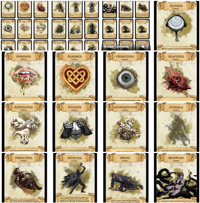 Condition Cards By Paul Weber
